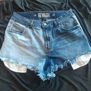 💥 3/$20 Rewash denim shorts